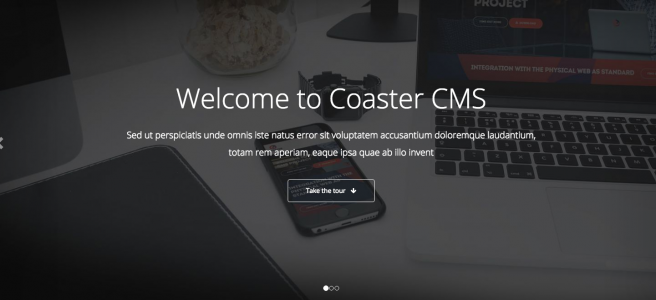 Banners with Coaster CMS