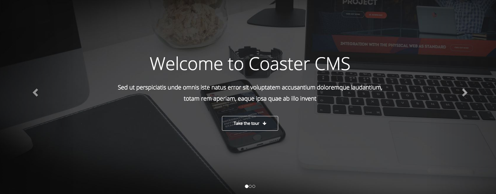 Coaster CMS version 5.5 released