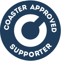 Coaster Supporter Badge